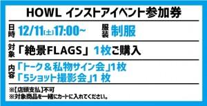 【イベント参加券(1枚)】絶景FLAGS