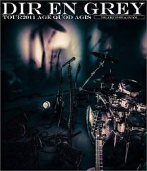 TOUR2011 AGE QUOD AGIS Vol.1 [Europe & Japan]【通常盤:Blu-ray】